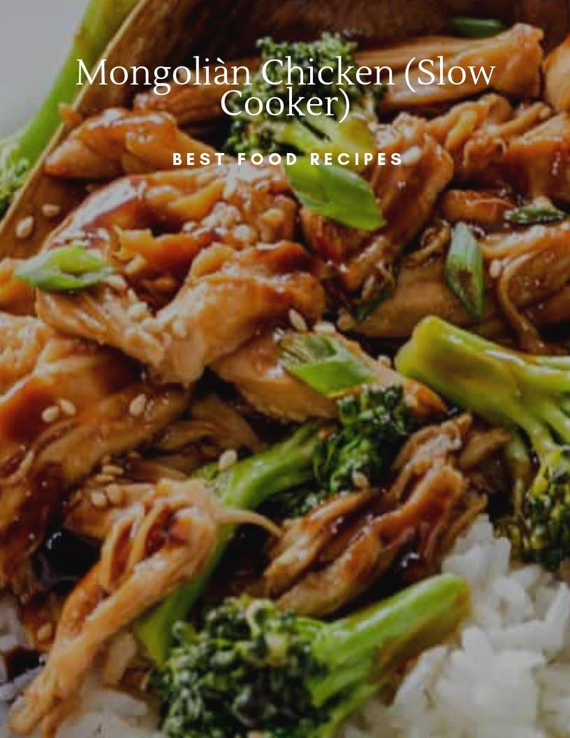 87aac0c942d MONGOLIAN CHICKEN ( SLOW COOKER ) | Carlton Kitchen