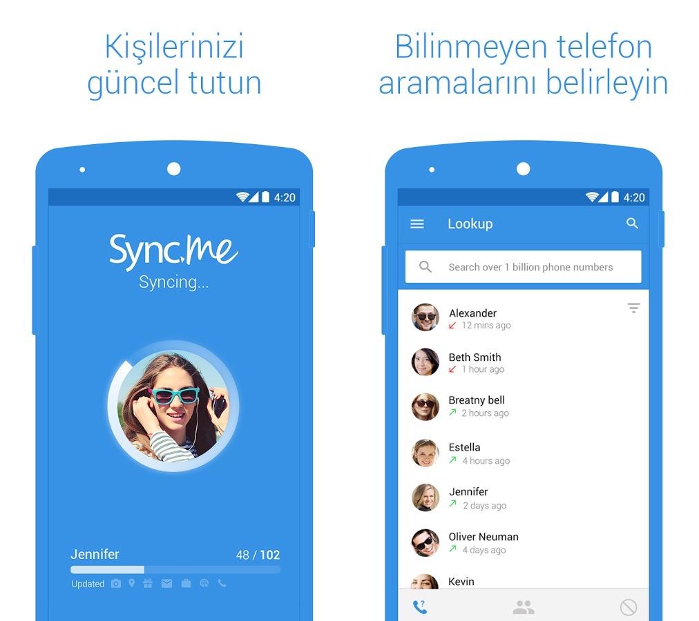 Facebook'u iPhone ve Android Rehberinle Eşleştir