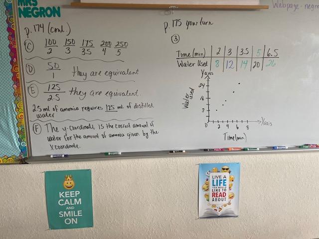 Mrs. Negron 6th Grade Math Class: Lesson 7.1 Ratio, Rates ...