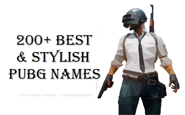 Best name for pubg   Pubg Cool Names