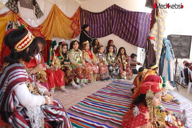 اللباس التقليدي  في الحامة