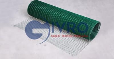 Produksi Kawat Loket PVC