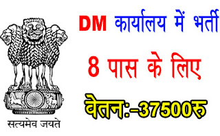 dm office new recruitment,8pas sarkari naukri,new sarkari job,dm job