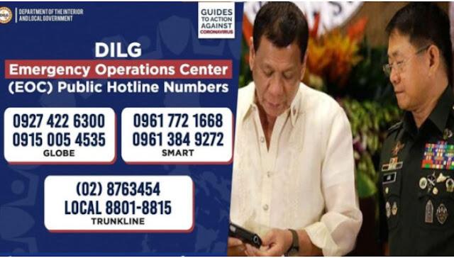 Kapitan na Namimili ng Bibigyan ng Relief Goods, I-Report direkta sa DILG