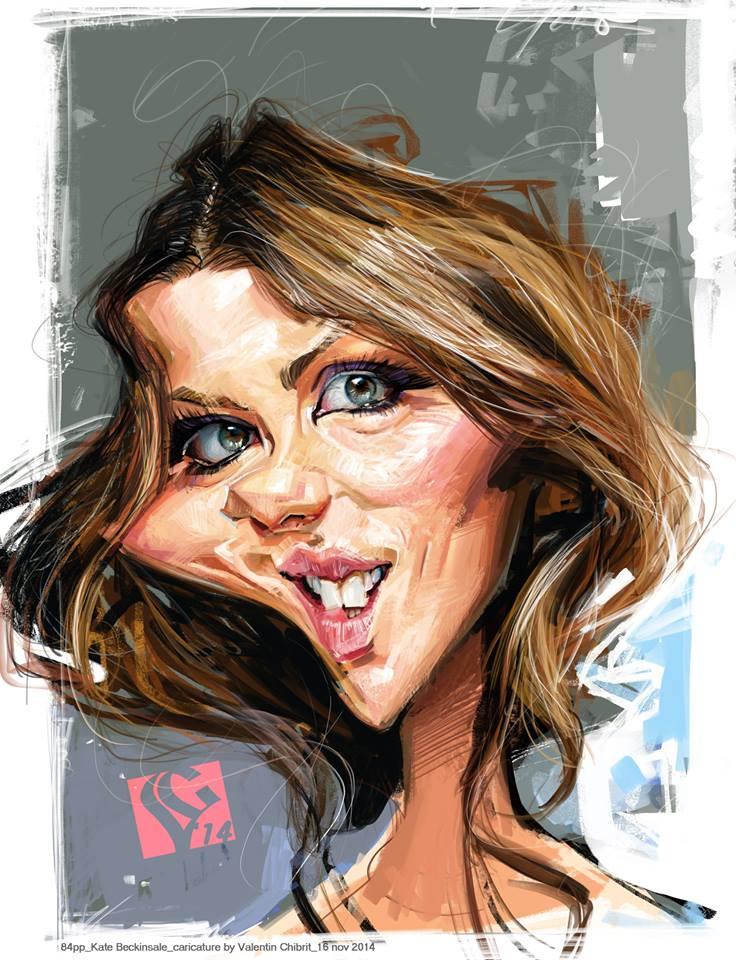 Kate Beckinsale por Valentin Chibrit