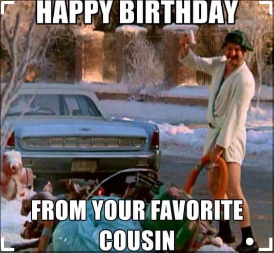Happy Birthday Meme cousin