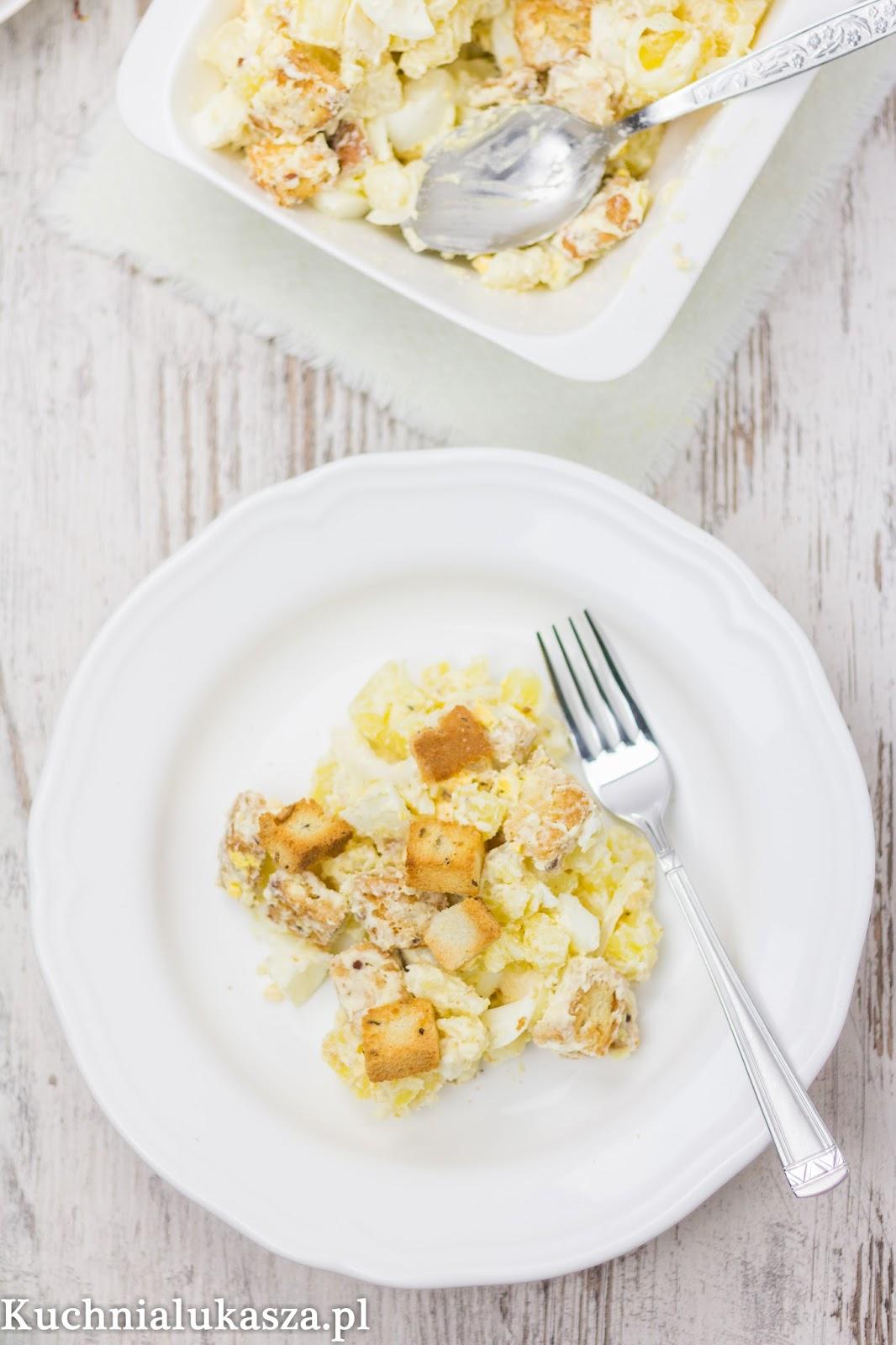 Salatka ziemniaczana z jajkiem