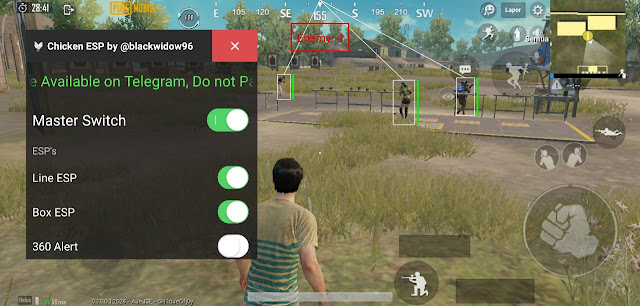 chicken esp hack pubg mobile