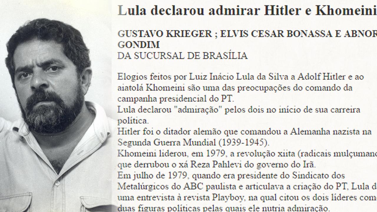 COMO EXPLICAR ATÉ PARA UM BOLSOMINION QUE O NAZISMO É DE DIREITA! - Página 2 Lula-hitler