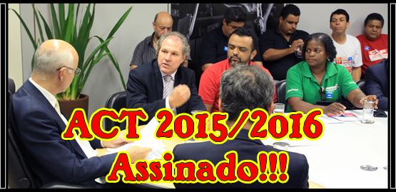 ACT 2015/2016 Assinado!!!