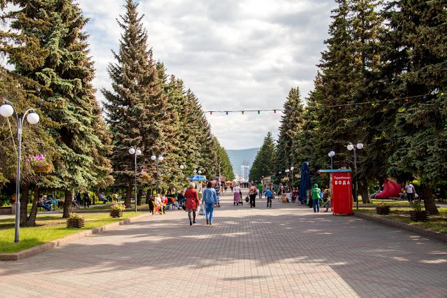 Парк Красноярск