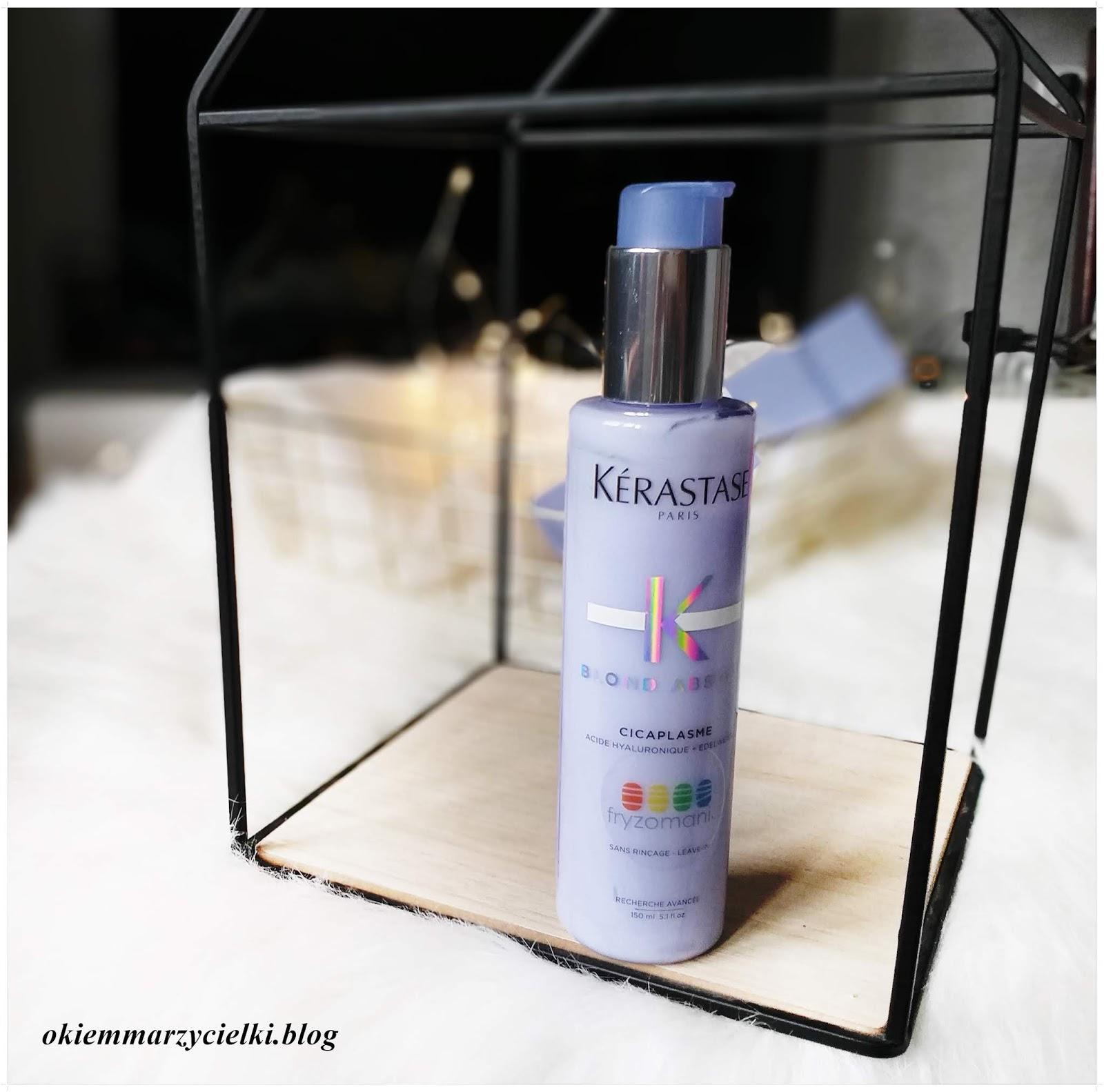 Serum wzmacniające z ochroną termiczną,Kerastase Blond Absolu Cicaplasme-recenzja #114