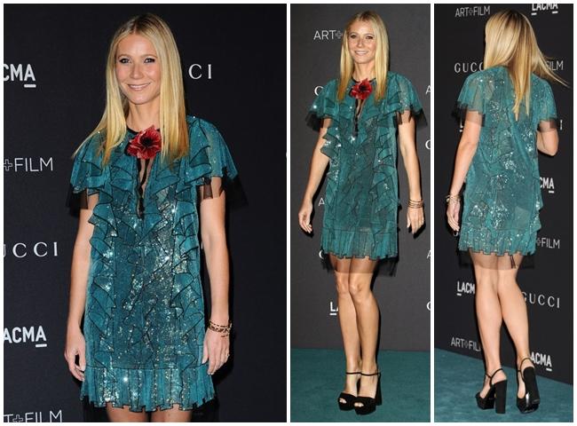 Oscar Best Actresses Love Gucci Dress 2016 SS