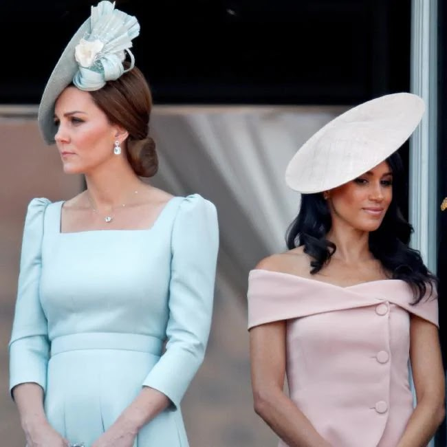 Meghan Markle complains that Kate Middleton gets backing of the Palace