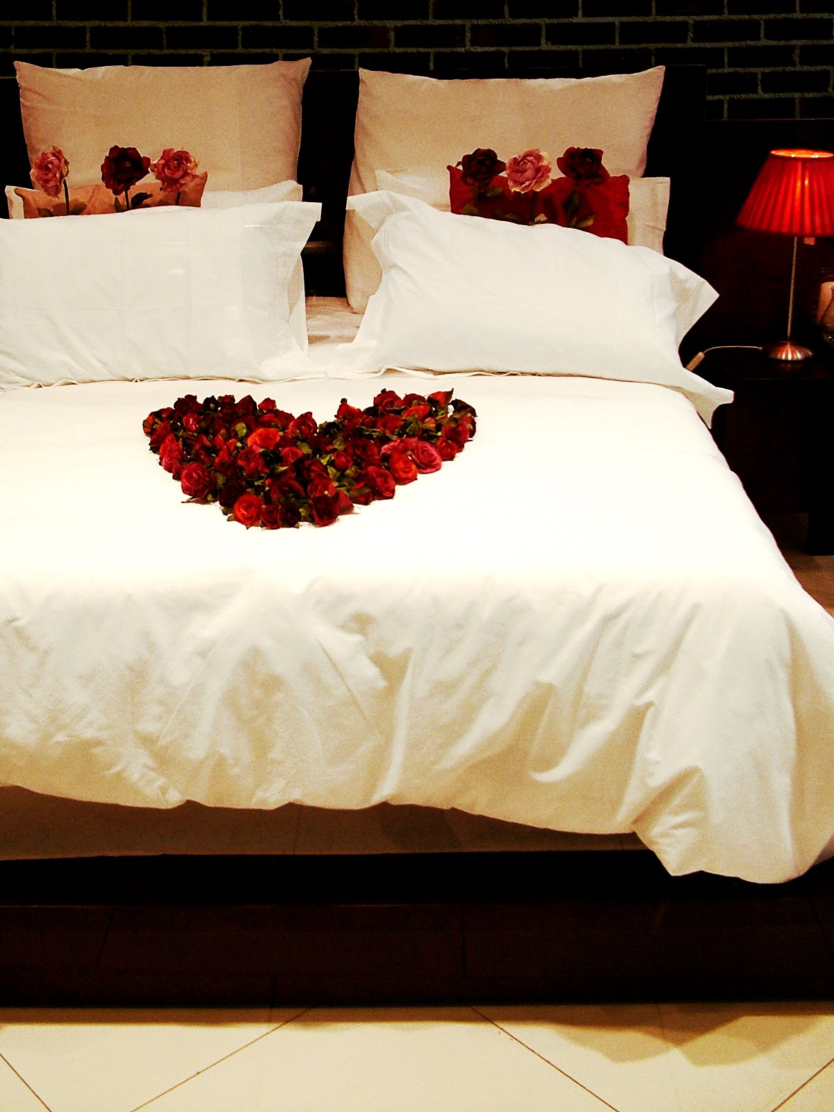 A Little Something Spicy: Sexy Sultry Bed - Sensual Valentines Day Bedroom Ideas