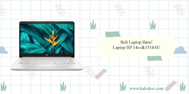 laptop hp 14s-dk1514au