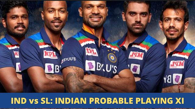 ind vs SL : 1st ODI , Indian predicted XI