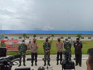 Ratas Terkait New Normal, Kapolri Dan Panglima TNI Tiba Di Batam