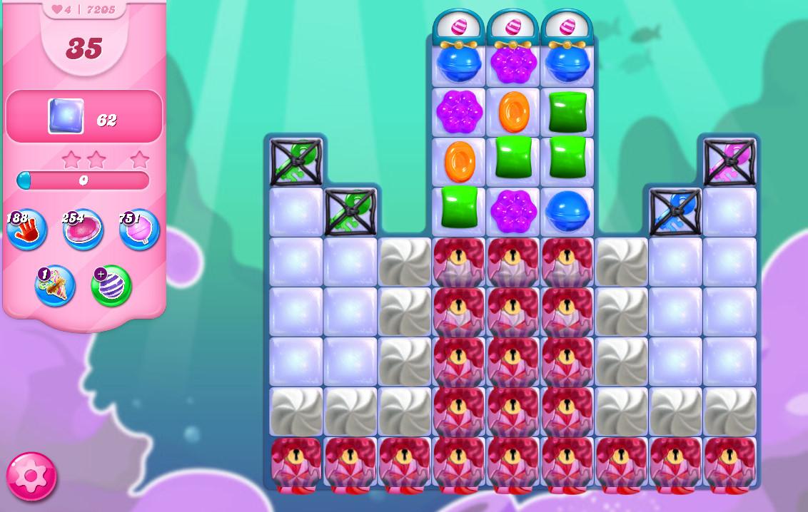 Candy Crush Saga level 7205