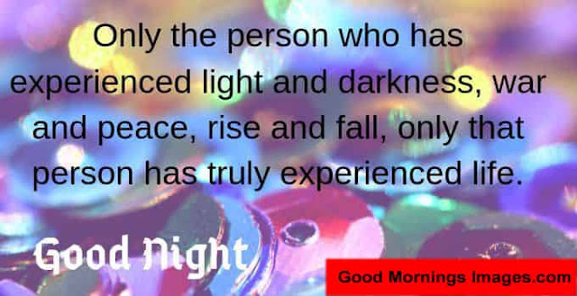 Only The Person Who Love Good Night