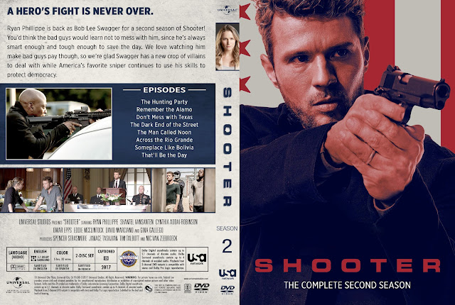 Shooter Season 2 DVD Cover