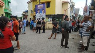 Polres Pelabuhan Makassar Bubarkan Perang Kelompok di Barukang - Sabutung