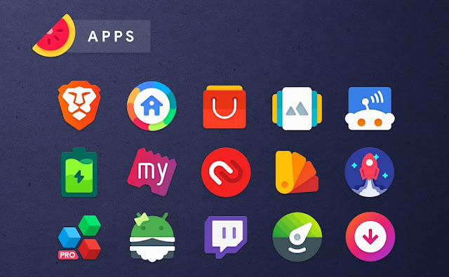 Sliced icon pack free download APK
