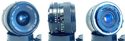 Canon FDn 28mm 1:2.8 #899