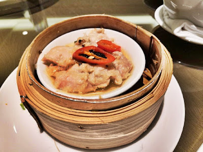 Steamed Chicken Fillet in Black Bean Sauce