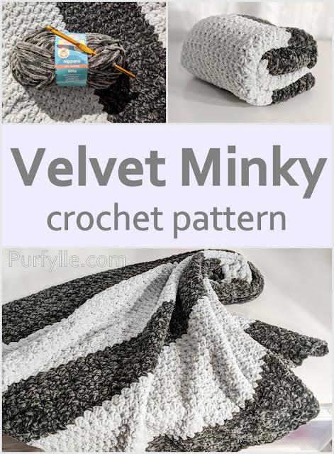 Velvet Minky Crochet Pattern