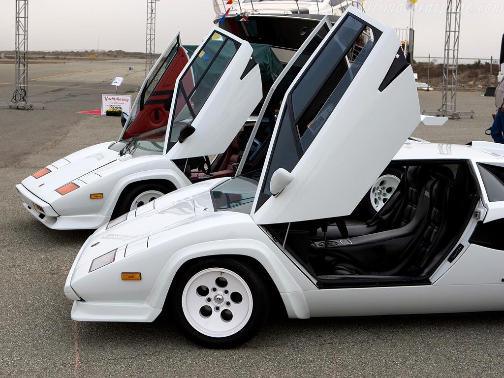1985 White Lamborghini Countach Essentials For The Modern Man