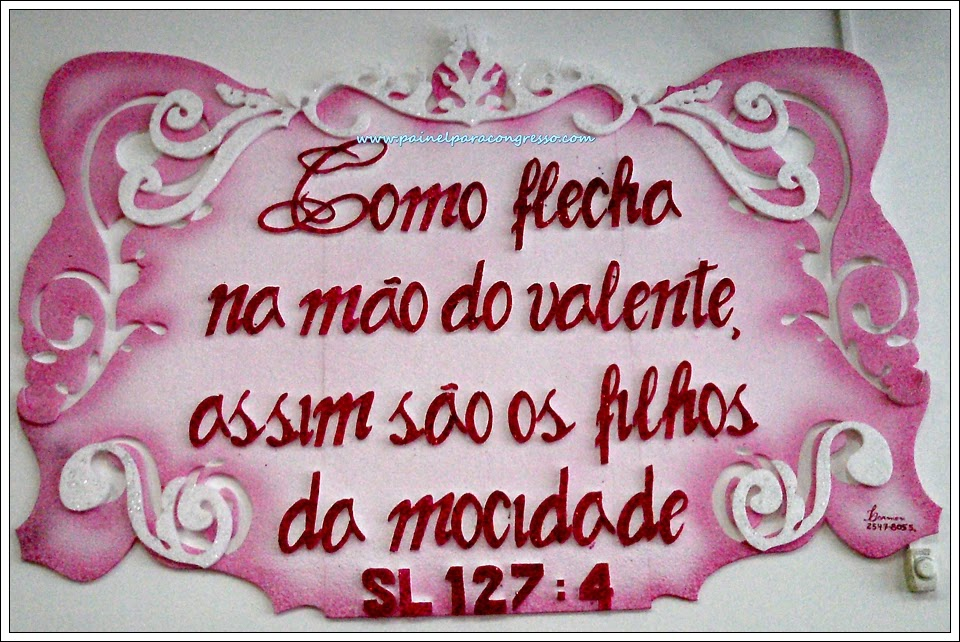 Congresso de jovens   /   Salmo 127:4