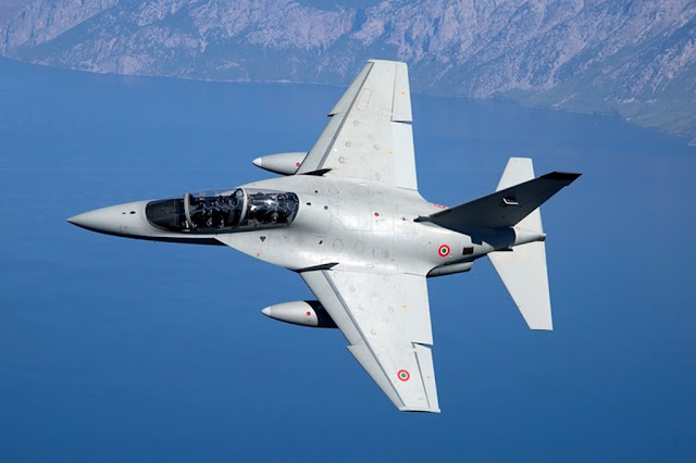 Italian Air Force receives two additional T-346A jets under the International Flight Training School