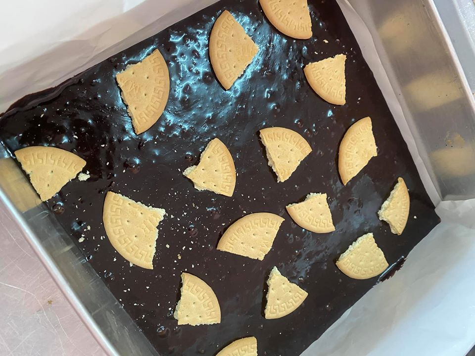resepi viral kek brownies merry kedut azlina ina