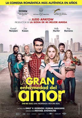 The Big Sick 2017 DVD R1 NTSC Latino