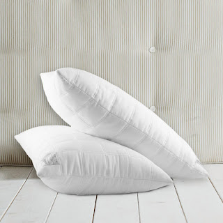 Mrs. Support System pillows and gusted pillows are well suited for side sleepers
