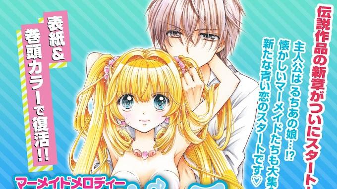 El manga de 'Mermaid Melody' tendrá una secuela que comenzará en agosto