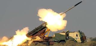 pinaka-rocket-launched