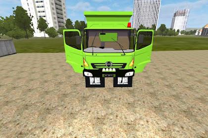 Mod Bussid Truck Hino Lohan Dump Truck