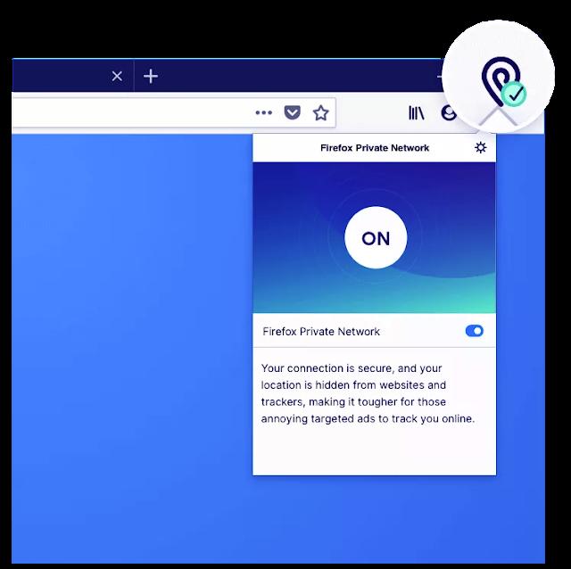 يقوم Firefox بإختبار VPN ، ويمكنك تجربتها الآن