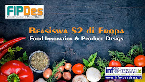 Beasiswa Penuh S2 di Eropa: Food Innovation & Product Design