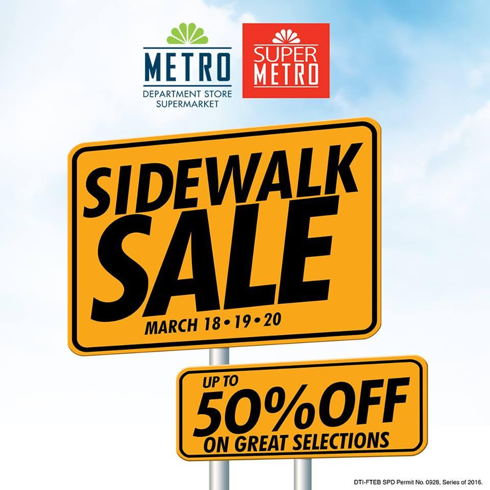 e9a6d2b3553c6 Metro Stores Sidewalk Sale  March 2016. Check out ...