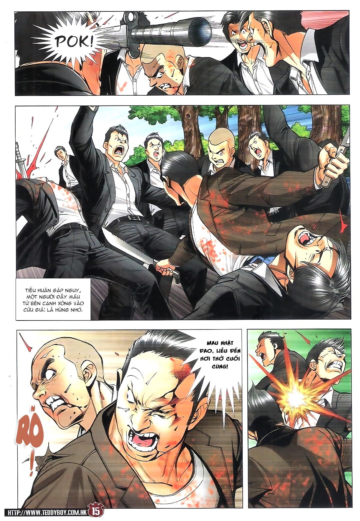 Người Trong Giang Hồ chapter 1805: thiên đao vạn trảm trang 14