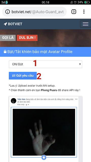 Cara Aktifkan Profile Picture Guard Facebook Di Akun Lama 9
