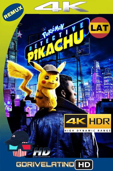 Pokémon Detective Pikachu (2019) BDRemux 4K HDR Latino-Ingles MKV