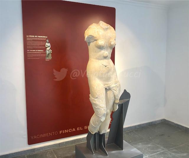 visión completa de la Venus de Fuengirola
