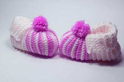 8 - Crochet Imagenes Babuchas para bebés a crochet y ganchillo. Majovel Crochet.