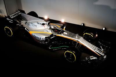 Force India VJM10 2017 Front Side