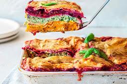 Vegan Rainbow Lasagna