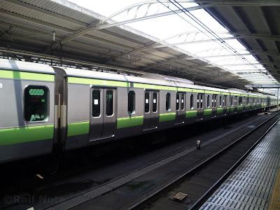 JR東日本E231系500番台の6扉車